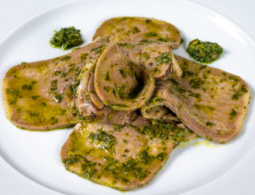 LINGUA DI VITELLO IN SALSA VERDE